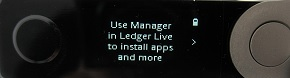 比特幣加到 ledger Nano X 冷錢包裡面