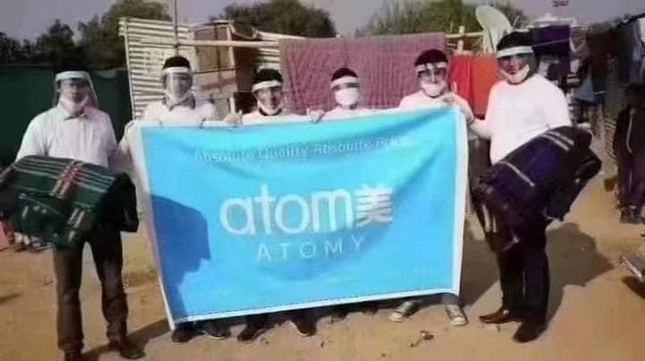 印度艾多美Atomy公益活動