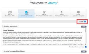 艾多美加拿大快速線上註冊教學 atomy canada membership registration 2