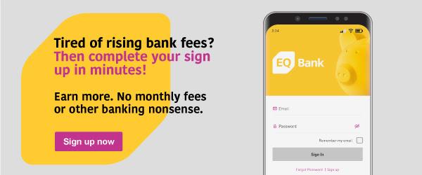 EQ加拿大高利息存款